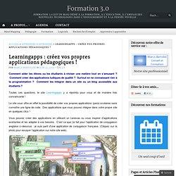 Learningapps : créez vos propres applications pédagogiques !