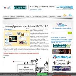 CDDP de l'Oise - LearningApps modules interactifs Web 2.0