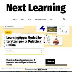 LearningApps: Moduli Interattivi per la Didattica Online – Next Learning