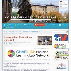 LearningLab Network au collège ! - Collège Jean-Claude Chabanne - 95300 Pontoise