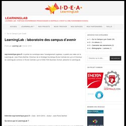 LearningLab : laboratoire des campus d'avenir