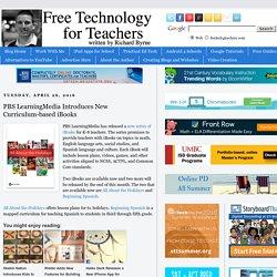 PBS LearningMedia Introduces New Curriculum-based iBooks