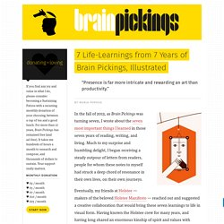 7 Life-Learnings from 7 Years of Brain Pickings, Illustrated – Brain Pickings