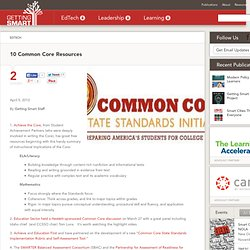 10 Common Core Resources