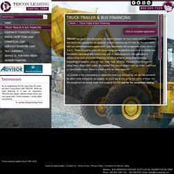 Heavy Truck Leasing Companies