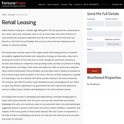 Retail Leasing Company in Bangalore