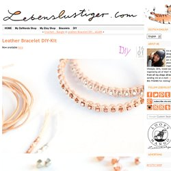 Leather Bracelet DIY-Kit