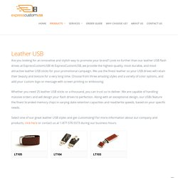 Leather USB Sticks