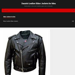 Leather Supreme Mens Tall Size Buffalo Hide Biker Jacket