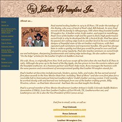 Leather Wranglers Inc, About Us
