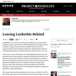 """Leaving Lockerbie Behind"" by Jason Pack"