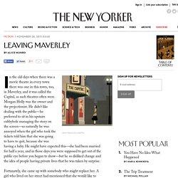 Leaving Maverley - The New Yorker