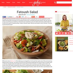 Lebanese Fatoush Salad