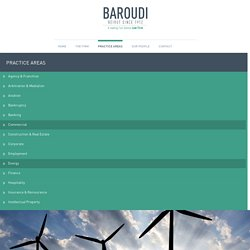 Oil and Gas Energy Law Firm Beirut, Lebanon - Baroudi & Associates