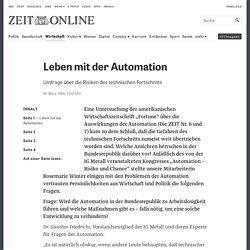 Leben mit der Automation