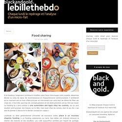 Food sharing - Lebillethebdo par l'agence Blackandgold