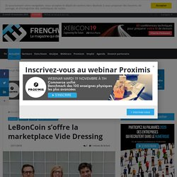 Leboncoin s'offre la marketplace Vide Dressing