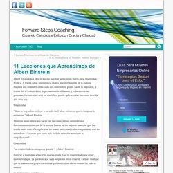 11 Lecciones que Aprendimos de Albert Einstein » Forward Steps Coaching