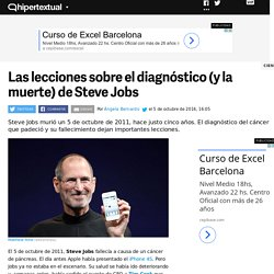 Steve Jobs: las lecciones del diagnóstico y muerte del CEO de Apple
