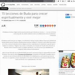 15 lecciones de Buda para crecer espiritualmente y vivir mejor