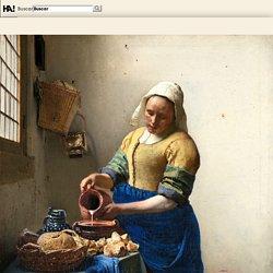 La lechera - Johannes Vermeer - Historia Arte (HA!)