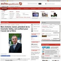 Cosmetic Valley - CHARTRES (28000) - Marc-Antoine Jamet, président de la Cosmetic Valley, est confiant pour l'avenir de la filière