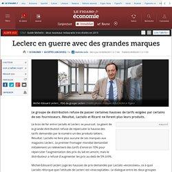 I.A. Sociétés : Leclerc en guerre avec des grandes marques