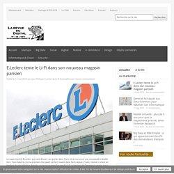 E.Leclerc tente le Li-Fi dans son nouveau magasin parisien