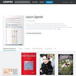 Calaméo - Leçon 2genet