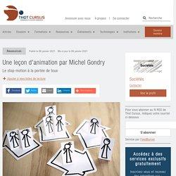 Une leçon d'animation par Michel Gondry