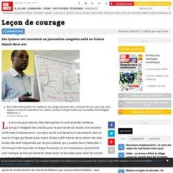 Leçon de courage