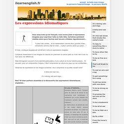 Leçon - Les expressions idiomatiques