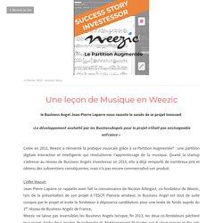 Une leçon de Musique en Weezic - Success Story