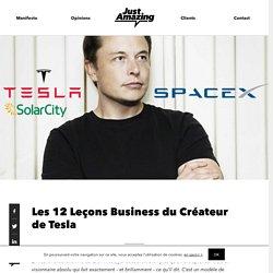 Les 12 Leçons Business du Créateur de Tesla - JAMZ