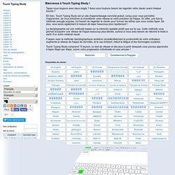 Leçons de dactylographie en ligne