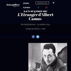 Les leçons de L'Etranger d'Albert Camus