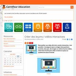 Créer des leçons / vidéos interactives