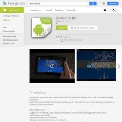 Lecteur de BD - Applications Android sur GooglePlay