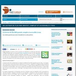 Un lecteur de flux RSS gratuit, complet et accessible à tous
