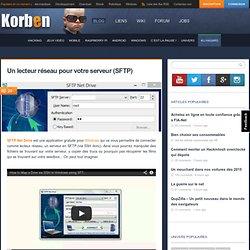 Un lecteur réseau pour votre serveur (SFTP)