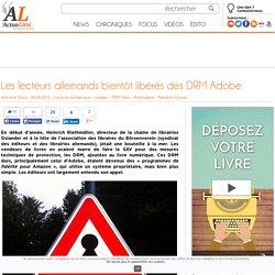 Les lecteurs allemands bientôt libérés des DRM Adobe