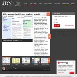 10 lecteurs de flux RSS pour améliorer sa veille - web & tech