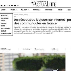 Les réseaux de lecteurs sur internet : panorama des communautés en France