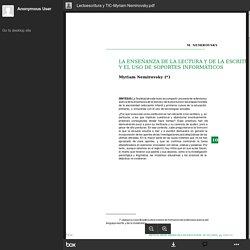 Lectoescritura y TIC-Myriam Nemirovsky.pdf