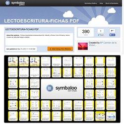 LECTOESCRlTURA-FICHAS PDF