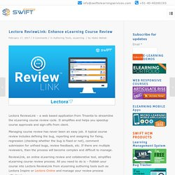 Lectora ReviewLink: Enhance eLearning Course Review