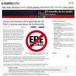'El País' y nuevas amenazas de la dirección