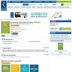 Lectorino & Lectorinette (Fichier + CD-Rom) apprendre à comprendre des textes narratifs - ce1 - ce2