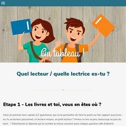 Quel lecteur / quelle lectrice es-tu ? - Site compagnon du cours de Français