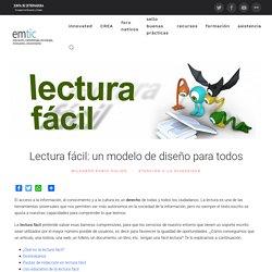 Lectura fácil: un modelo de diseño para todos